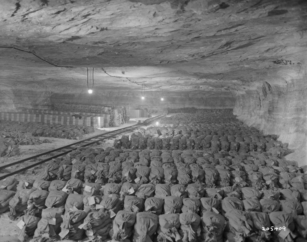 Nazi gold stored in Merkers Salt Mine
